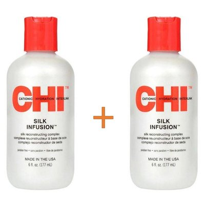 CHI Silk Infusion 177ml Duopack