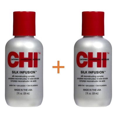 CHI Infusion Silk 59ml Duopack