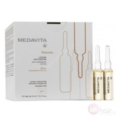 Medavita Puroxine Anti-Dandruff Lotion 12 x 6ml