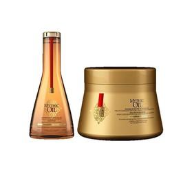 L'Oreal paquete combinado de aceite mítico para cabello fino y normal