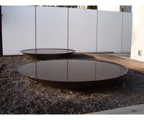Waterschaal Antraciet 150 cm.