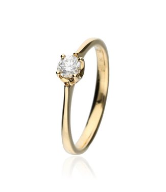 Zazare 18Krt. Yellow Gold brilliant