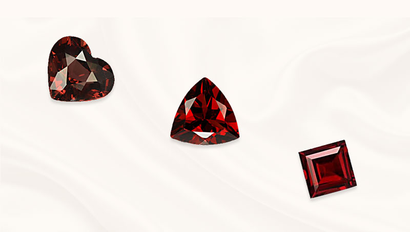 Garnet edelsteen | geboortesteen januari | Pyroop | Zazare Diamonds
