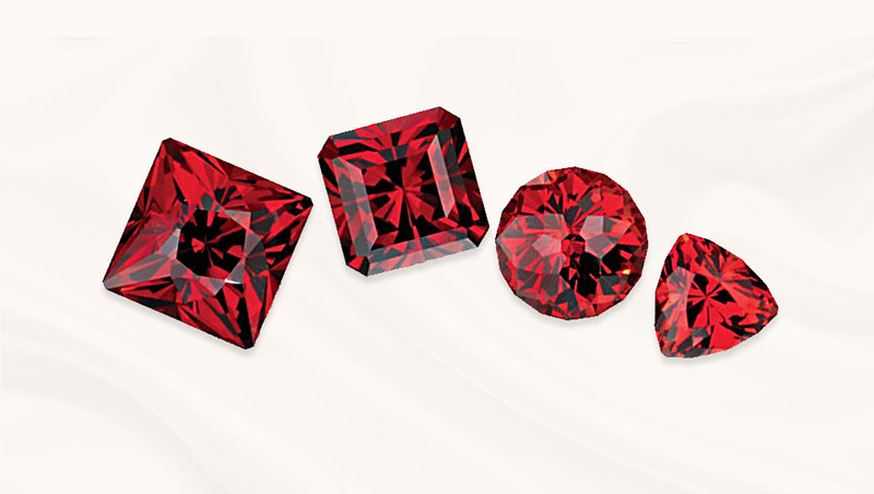 Garnet edelsteen | geboortesteen van Januari | Almandien | Zazare Diamonds