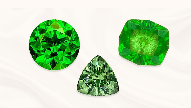 Garnet gemstone | birthstone of January | Andradite | Zazare Diamonds