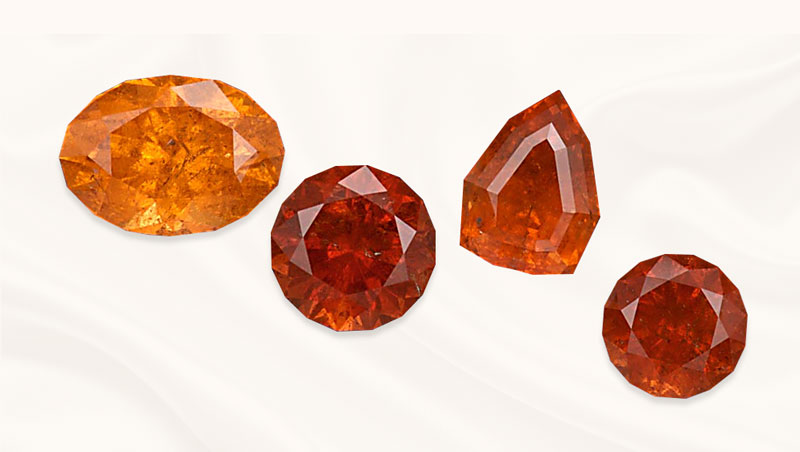 Garnet edelsteen | geboortesteen januari | Spessartine | Zazare Diamonds