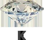 Diamond colour K