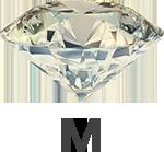 Diamond colour M