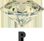 Diamond colour P