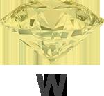 Diamond colour W