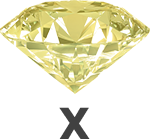 Diamond colour X