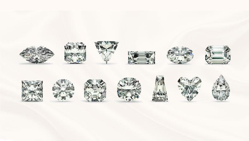 diamant slijpvormen