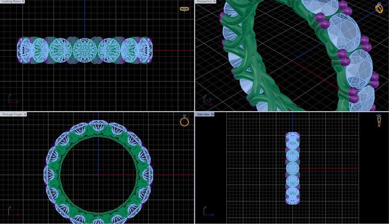 Sieraden laten maken | 3D tekening | Schaap en Citroen