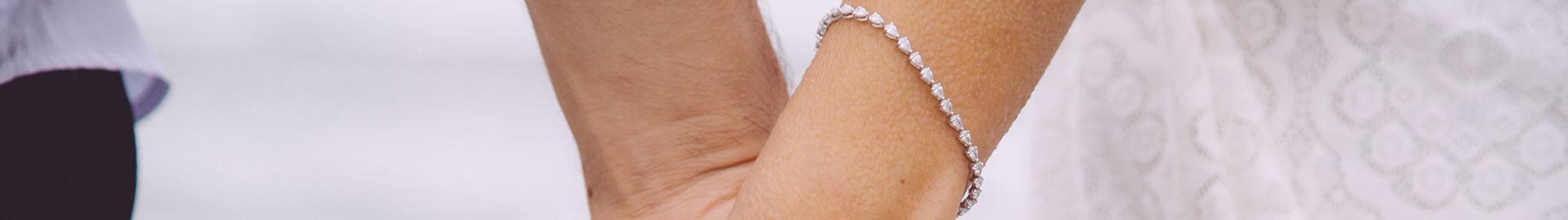 Bracelets with diamonds Zazare Diamonds
