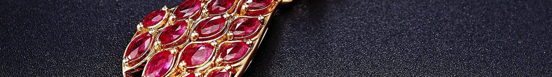 Oorbellen met kleurstenen Zazare Diamonds