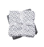Done By Deer Hydrofiele Doek Happy Dots 2-Pack Grijs