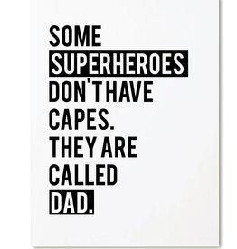 Zoedt Kaart Superheroes
