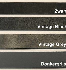 Leren Plankdragers Vintage Grey (Set Van 2)