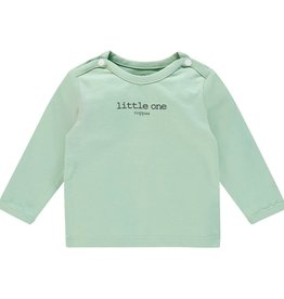 Noppies Longsleeve Hester Text Grey Mint