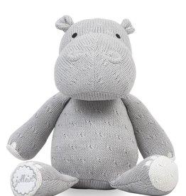 Jollein Knuffel Hippo Light Grey