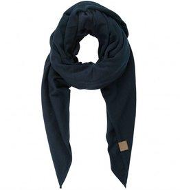 Zusss Stoere Grote Sjaal Nachtblauw
