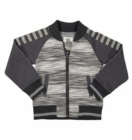 Cardigan Dark Grey melange 92
