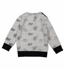 Sweater Grijs Melee/Black 92