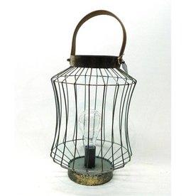 Mansion Metalen Lamp Rho 24x24x35.5