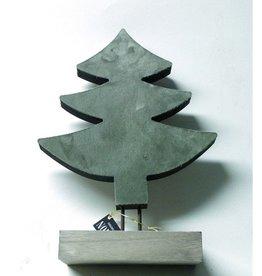 Mansion Kerstboom Op Voet Dark Green