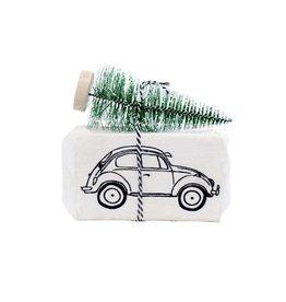 100% Leuk Autozeep Met Kerstboom