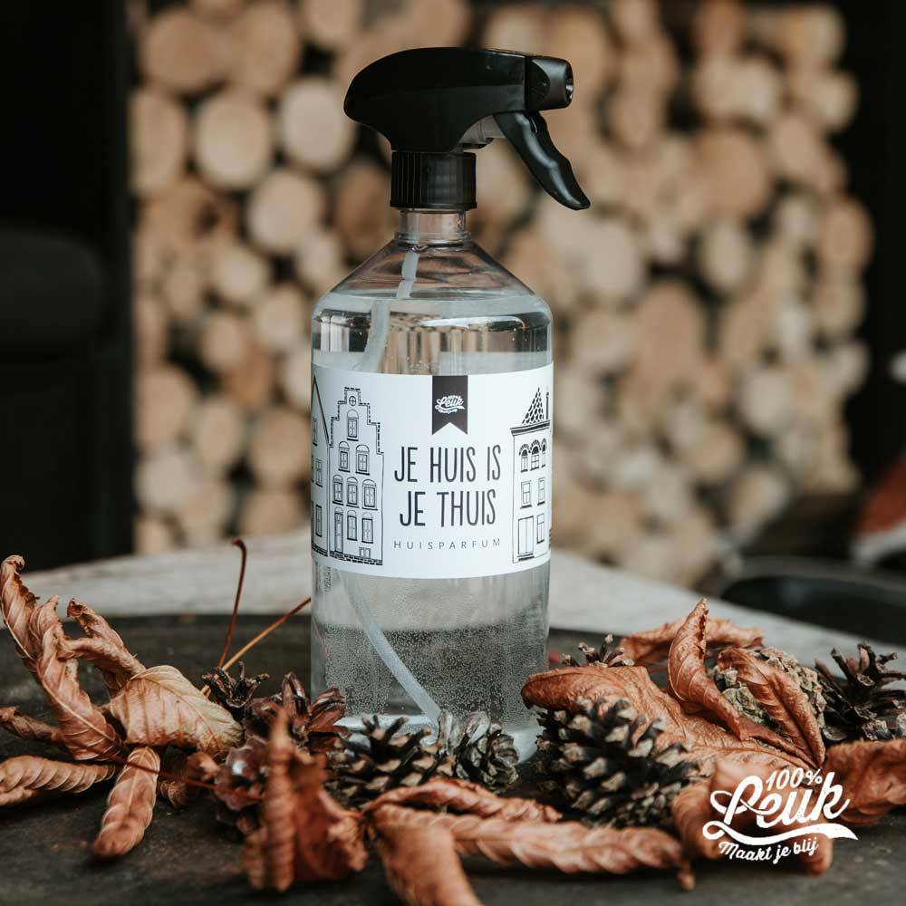 100% Leuk Huisparfum - Kruidige Dennenappel