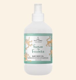The Gift Label Baby Body Oil Forever