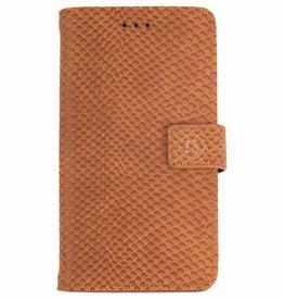 Zusss Mooi Telefoonhoesje Samsung Galaxy S9 Bruine Schub