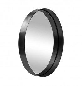 Zusss Spiegel Metaal Rond Zwart