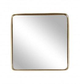 Zusss Spiegel Vierkant Goud