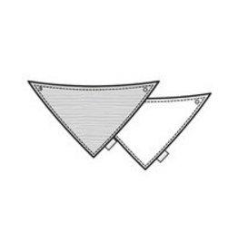 BESS Slab Hearts Pinstripe White