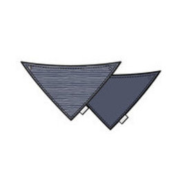 BESS Slab Hearts Pinstripe Blue