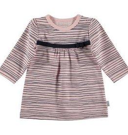 BESS Dress Pinstripe Pink