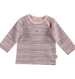 BESS Shirt You Stole My Heart Pinstripe Pink
