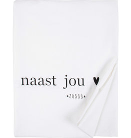 Zusss Tafelkleed Mijn favoriete Plekje 300x150cm Wit
