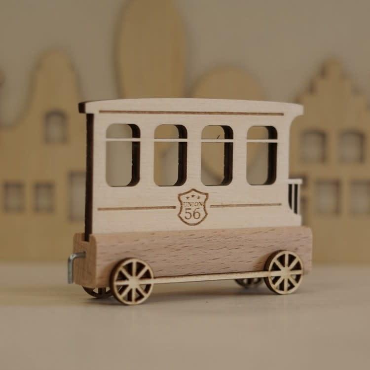 Harlekijn Import Lettertrein Wagon