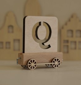 Harlekijn Import Lettertrein Q