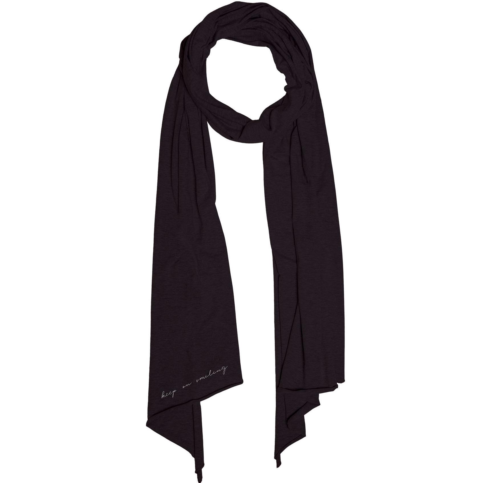 Zusss Toffe Basic Sjaal Zwart