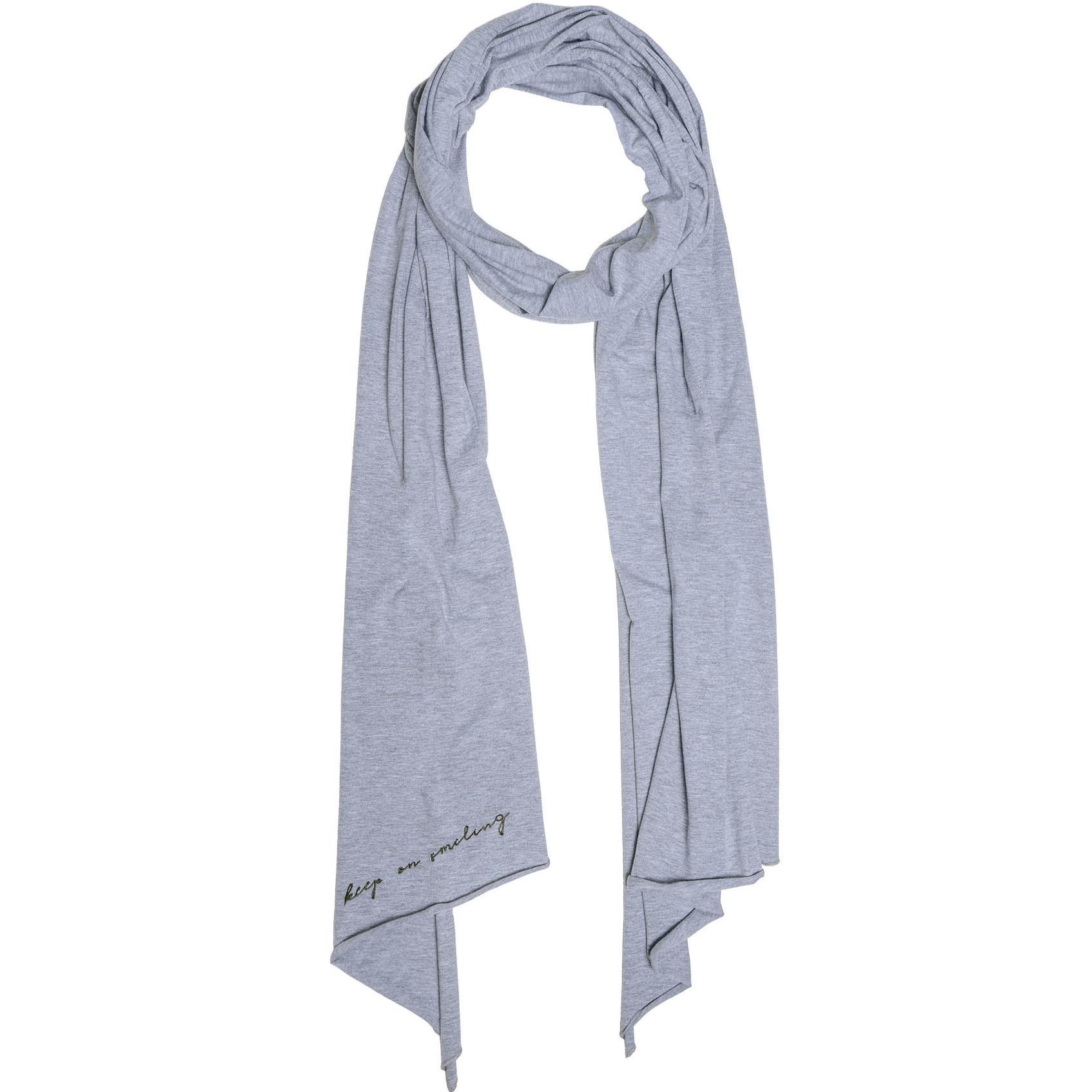 Zusss Toffe Basic Sjaal Grijs-Melee