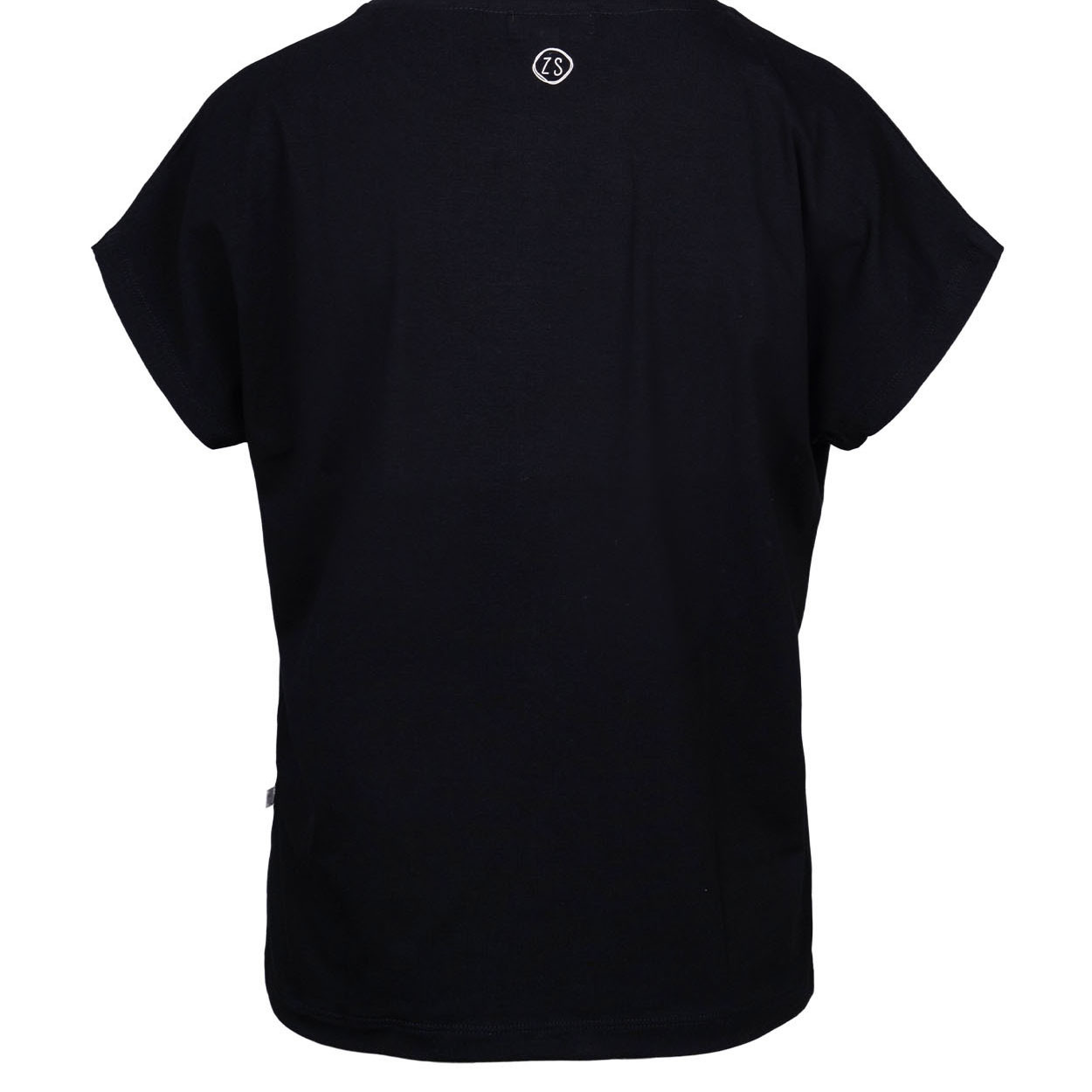 Zusss Tof Basic T-Shirt Zwart