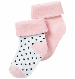 Noppies Sokken (2 paar) Nampa Lichtroze