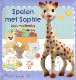 Sophie de Giraf Baby Voelboekje Spelen met Sophie