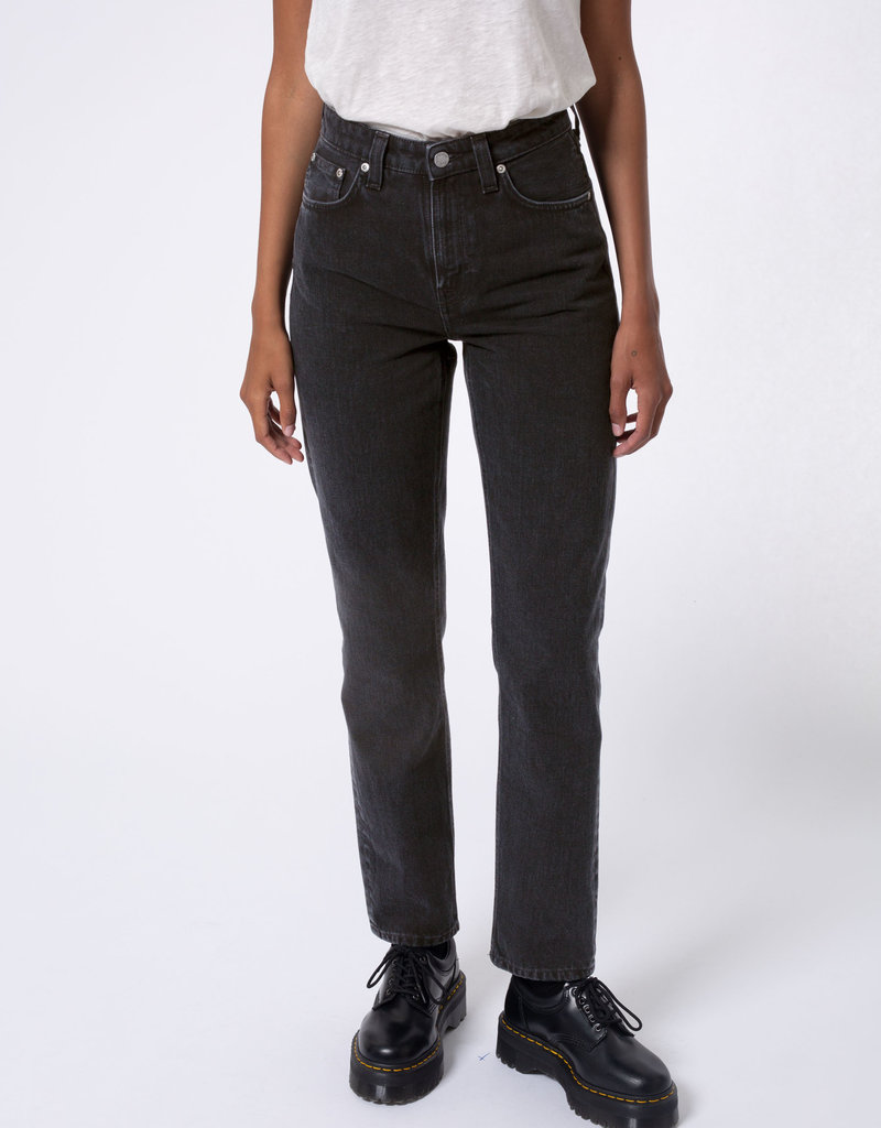 NUDIE JEANS Nudie Jeans Breezy Britt Black Worn