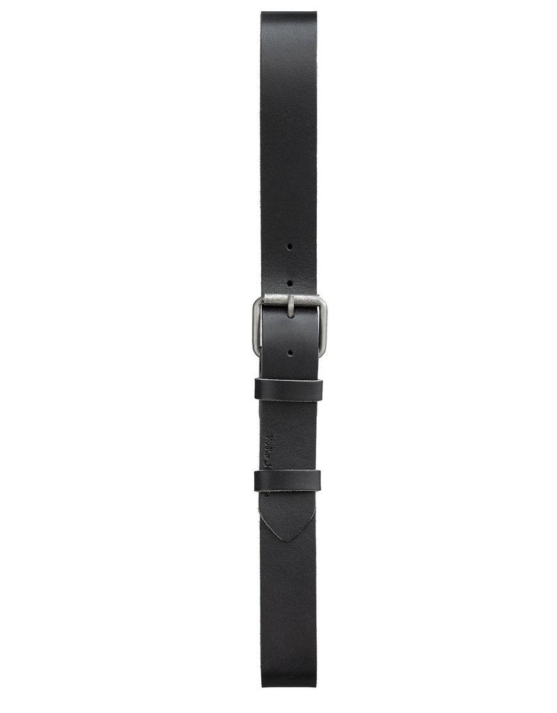 NUDIE JEANS Nudie Jeans Pedersson Leather Belt Black
