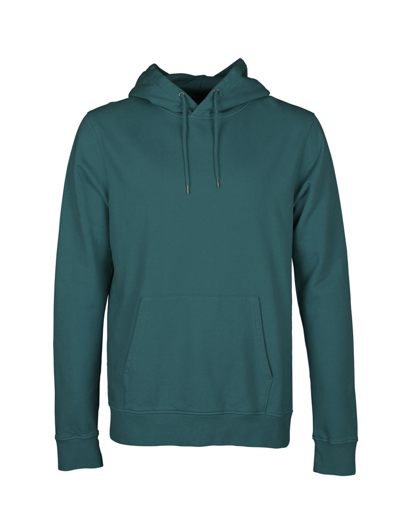 COLORFUL STANDARD Colorful Standard Classic Organic Hoodie Ocean Green